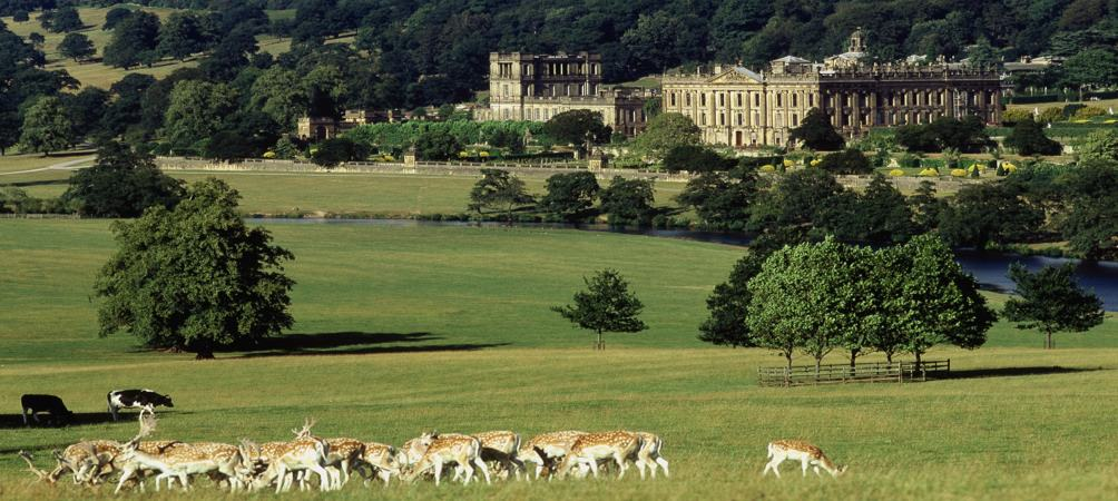 chatsworth_house in the Peak District Stay at the Portland Hotel in Buxton