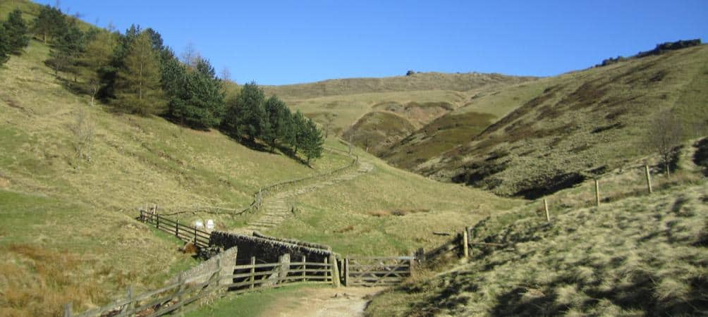 edale visit the peak district and stay at the Portland Hotel in Buxton