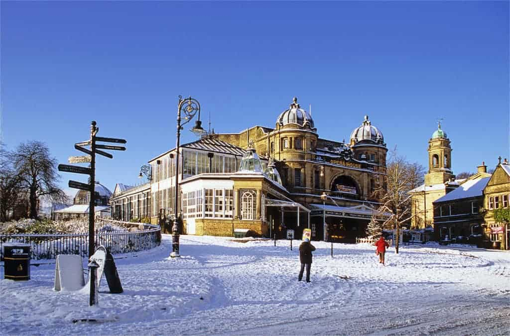 Buxton Opera house winter