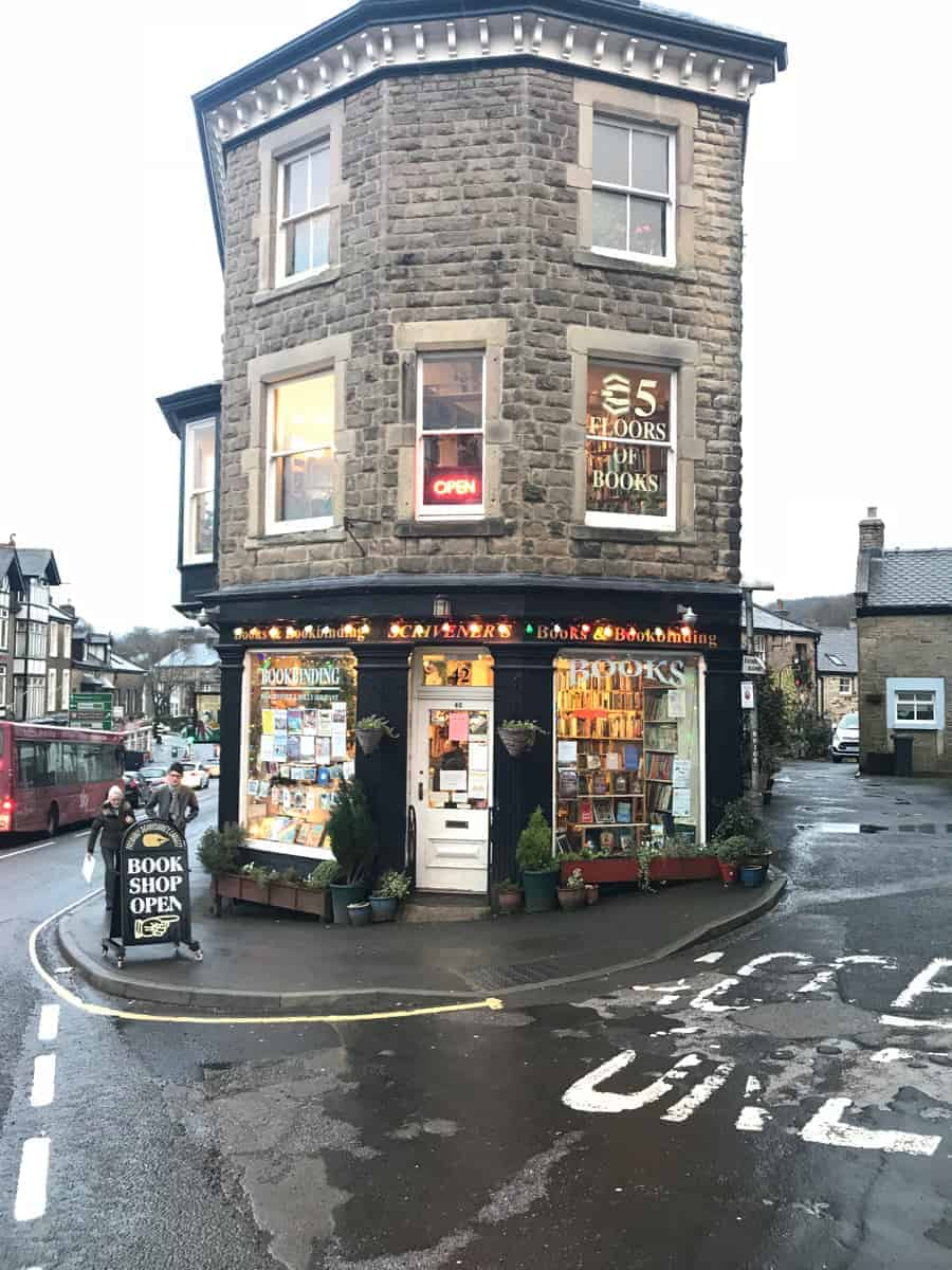 Scriveners Book Shop Buxton