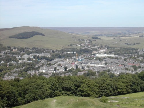 Buxton View From Solomons Temple