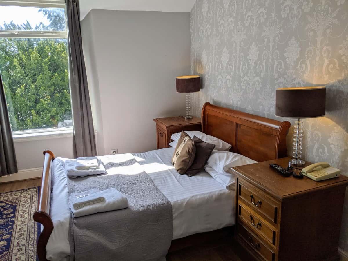 Sleigh Bed room Portland Hotel Buxton